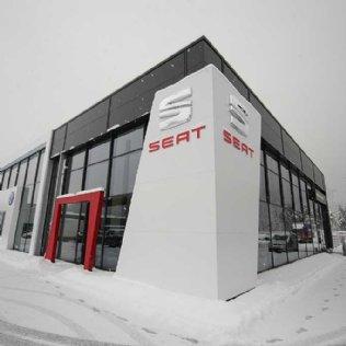 Schauräume und Werkstatthallen Porsche Alpenstraße