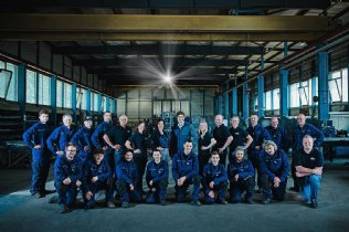 Das Team von Ziegler Stahlbau