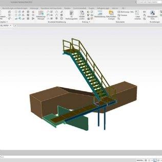 Konstruktionsprogramm – Umstieg auf Advance Steel