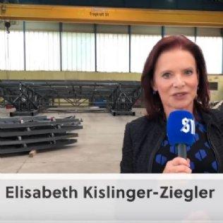 Mag. Elisabeth Kislinger-Ziegler im SN-Video-Interview über 100 Jahre Ziegler Stahlbau