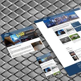Neue Ziegler Stahlbau-Website online