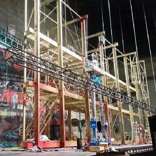 """Referenzen Salzburger Festspiele Stahlkonstruktion für """"West Side Story"""""""