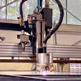 CNC-gesteuerte Plasma- und Autogenschneideanlage MetalMaster 2.0 High Performance © Ziegler
