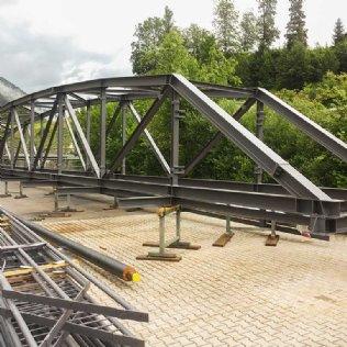 Referenzen Fachwerkbrücke Südsalz GmbH © Ziegler Stahlbau